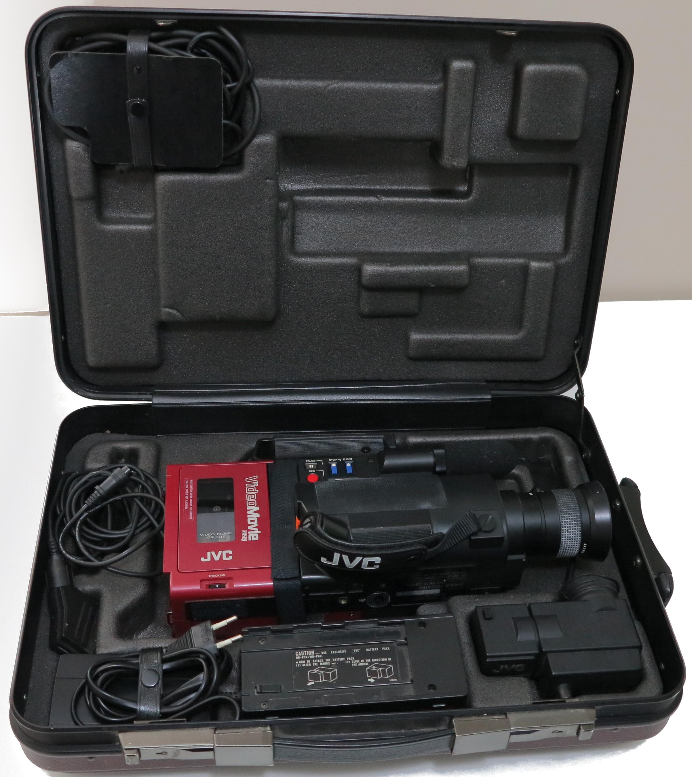 JVC GR-C1 i koffert